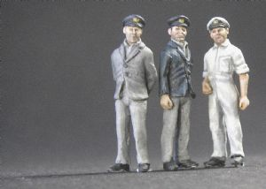 GM72006 British & Commonwealth Seamen,Officers-overalls(1)
